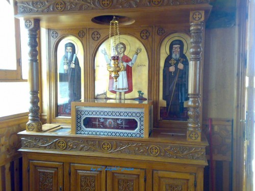 Reliquias de San Menas en El Cairo (Egipto).