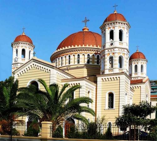 Catedral de San Gregorio Palamas en Tesalónica, Grecia.