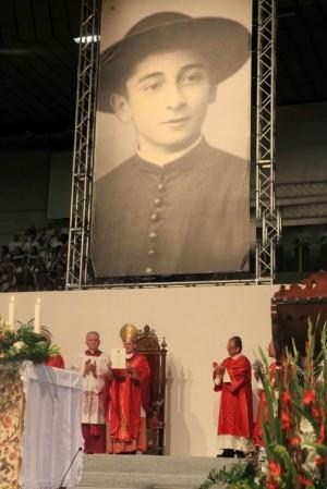 Fotografía de la celebración de beatificación.