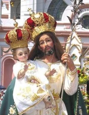 Imagen de San José venerada en Zapotlán, México.