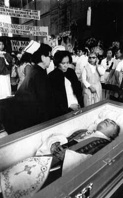 Fotografía del funeral del Siervo de Dios.