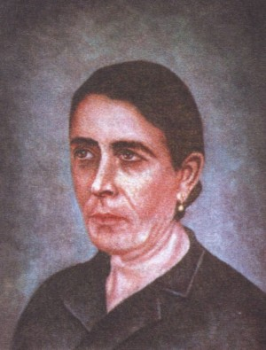 Beata Lucrecia García Solanas, laica, martirizada con las religiosas Mínimas.