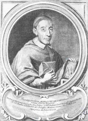 Reproducción de un supuesto retrato que se conserva en la iglesia parroquial de Torretta di Monreale (Palermo).
