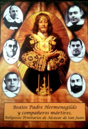 Cartel de los beatos trinitarios.