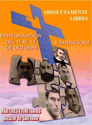 Cartel de la peregrinación a la beatificación y portada del libro.