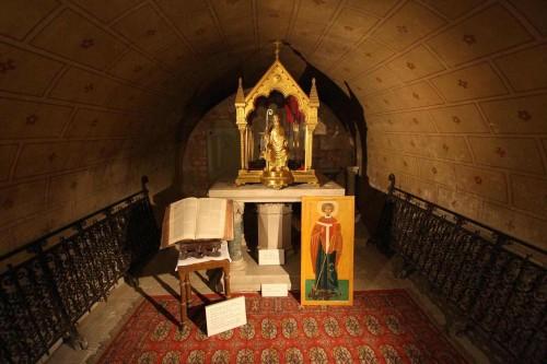 Reliquias de San Hilario en Poitiers (Francia).