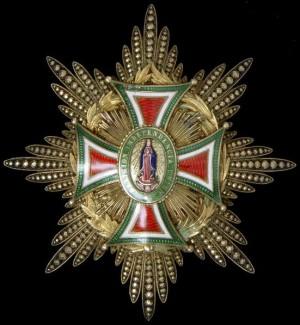 Gran Cruz Imperial de la Orden de Guadalupe.
