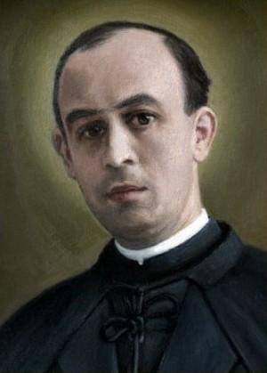 Estampa del Beato Pedro Sánchez Barba.