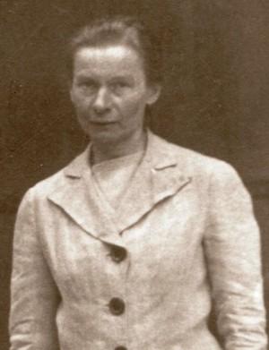 Última fotografía tomada en vida a la Beata. Era el año 1941 y ya estaba obligada a vestir de seglar.