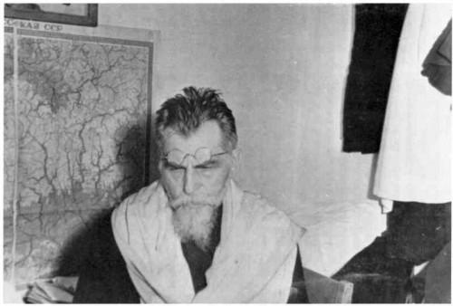 Foto tomada durante su tercera detención.