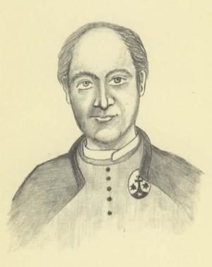 Ilustración del Beato Luís Domingo Oliva.