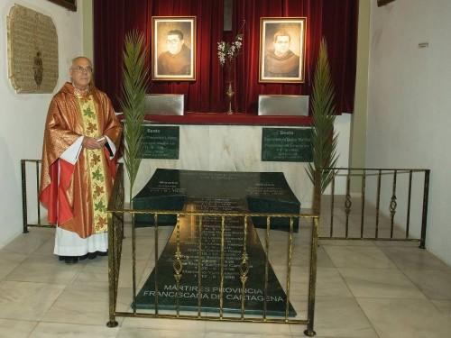 Sepultura definitiva en la iglesia de La Merced.