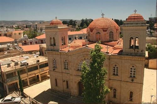 Iglesia de San Kendeas en Pafos (Chipre).