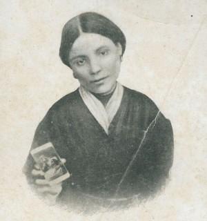 Fotografía de la Sierva de Dios Angélica Mastrioti.