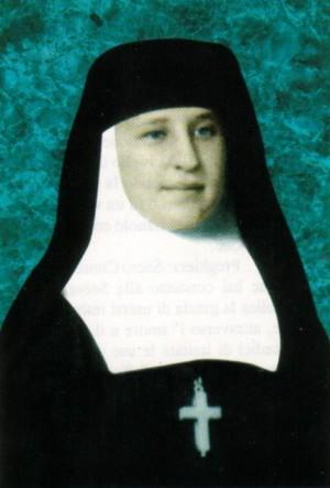 Fotografía coloreada de la Sierva de Dios María Angélica Álvarez Icaza.