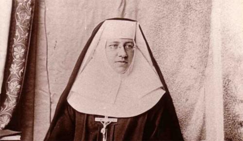 Fotografía de la Santa, fundadora de la Congregación de las Hermanas del Santísimo Sacramento para los Indios y los Negros.