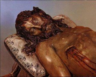 Detalle del busto de la imagen.