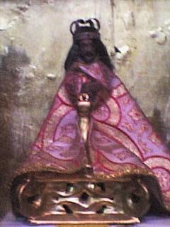 Imagen aparecida del Señor de Tepalcingo. Fotografía de Alejandro Pérez.