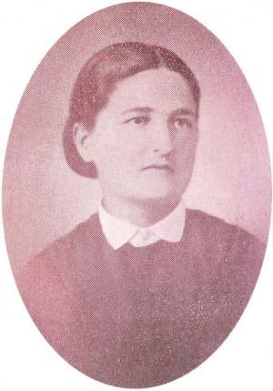 Fotografía de la Beata durante su tiempo de maestra en Montaldo.