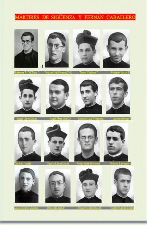 Beato José María Ruiz y los beatos mártires de Fernán Caballero.