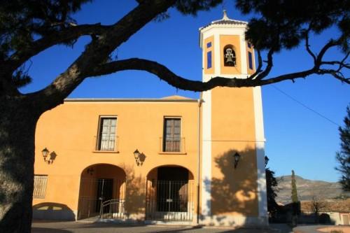 Iglesia de Hondón de las Nieves, santuario de la Virgen de las Nieves.