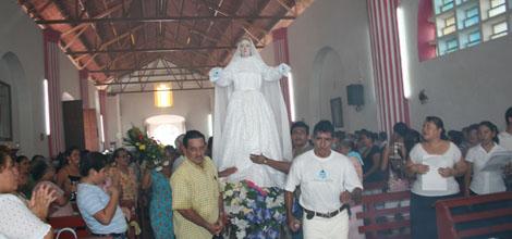 Procesión de Nuestra Señora de la Asunción de Tacotalpa.