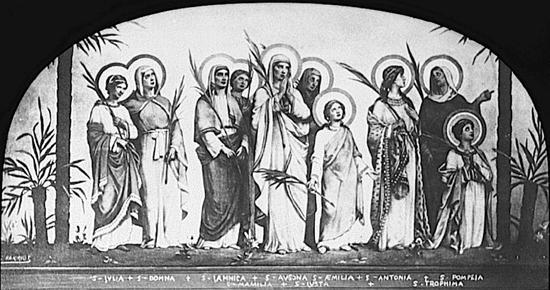 Resultado de imagen para Mártires de Lyon