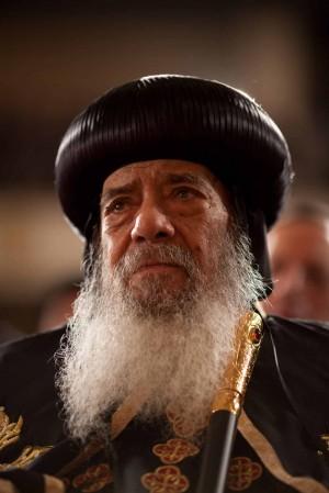 Su Santidad Shenouda III (1923-2012), Patriarca de Alejandría y Papa de la Iglesia Copta. Autor de este texto.