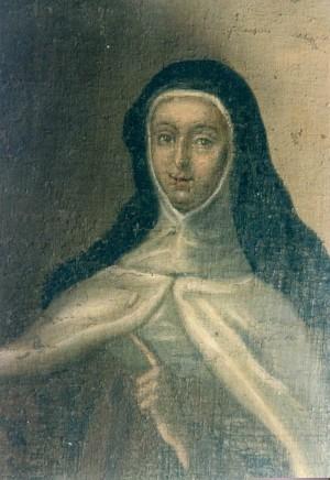 Lienzo de la madre María Antonia, su retrato más fiel, mandado hacer por su benefactor.