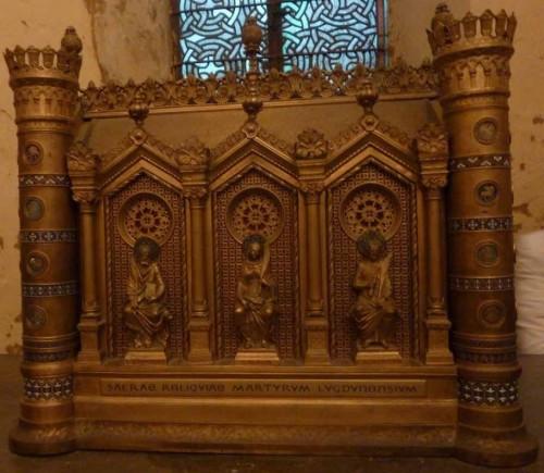 Relicario de los mártires de Lyon y Vienne, en Lyon (Francia).