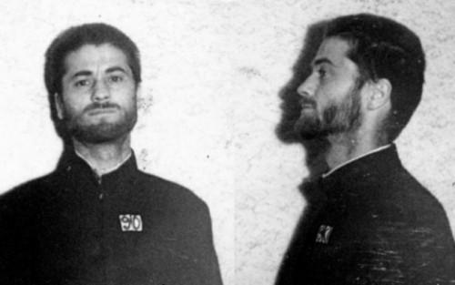 Ficha del padre Iustin Pârvu en los Archivos de Seguridad del Estado.
