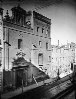 Colegio de la Presentación de Santo Tomás de Villanueva, Valencia (España). Fotografía de los años 30.
