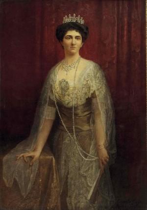 Retrato de la Sierva de Dios por Eduardo Gioja (1913).