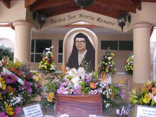 Detalle del mausoleo de la Beata.