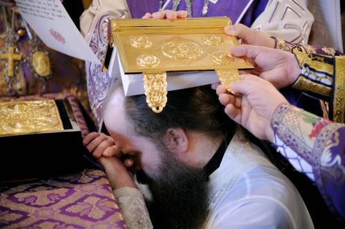 Consagración de un obispo.