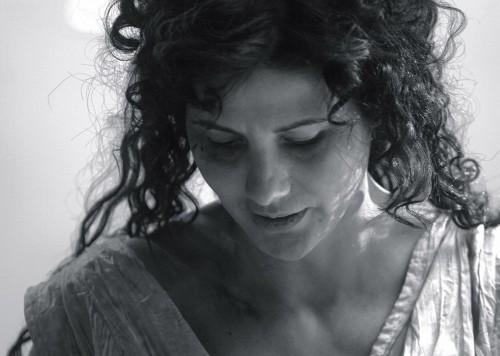 La actriz rumana Nicole Keniheart interpreta a Santa Catalina, mártir de Alejandría.