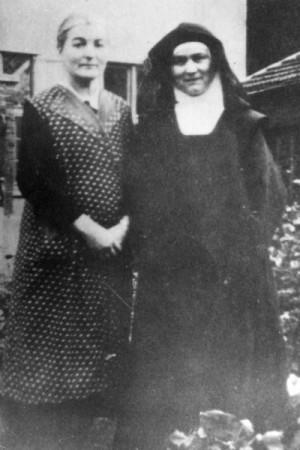 Edith y Rosa Stein, fotografiadas en el año 1939.