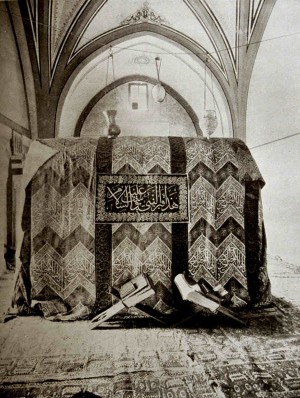 Tumba del Santo en Hebrón, Palestina.