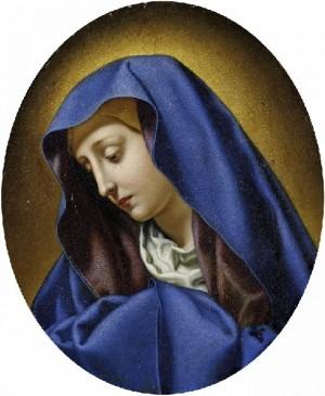 """""""Mater Dolorosa"""", lienzo del pintor barroco italiano Carlo Dolci."""