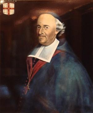 Lienzo retrato de San Francisco de Montmorency-Laval.