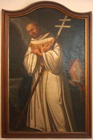 Lienzo del Santo (1666) en el monasterio de Eberbach (Alemania).