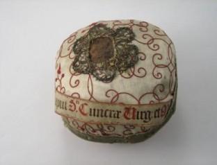 Cráneo de Santa Cunera. Rhenen, Utrecht (Países Bajos).