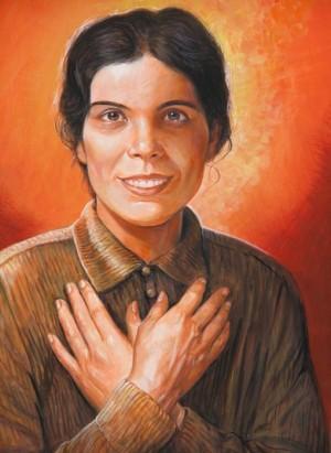 Imagen de la beatificación.