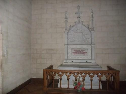 Sepulcro del Beato en el interior de la capilla del seminario.