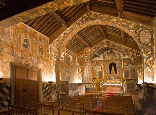 Vista del interior de la ermita. Fuente: www.dipualba.es