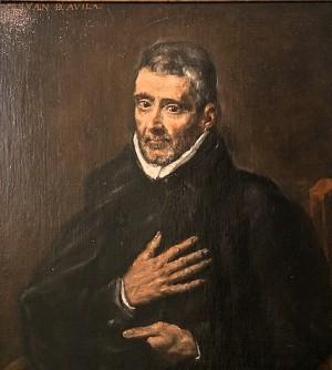 Retrato del Santo. Anónimo (s.XVII). Museo de El Greco, Toledo (España).