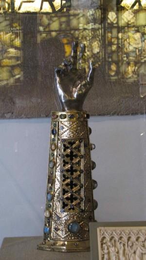 Reliquia del Santo. Museo de Arte de Filadelfia, EEUU.
