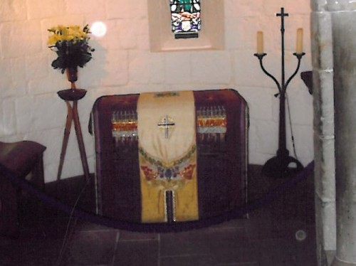 Sepulcro de la Santa en Edimburgo (Gran Bretaña).
