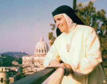 La Madre Mercedes de Jesús en Roma.