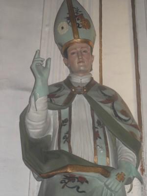 Imagen del Santo venerada en Guadalajara, México.